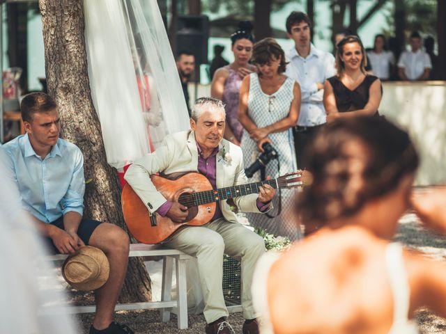 La boda de Mathieu y Aida en L' Ampolla, Tarragona 90