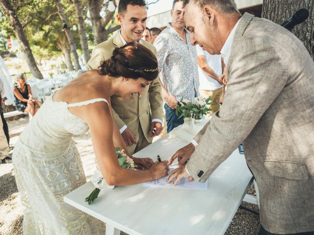 La boda de Mathieu y Aida en L' Ampolla, Tarragona 105