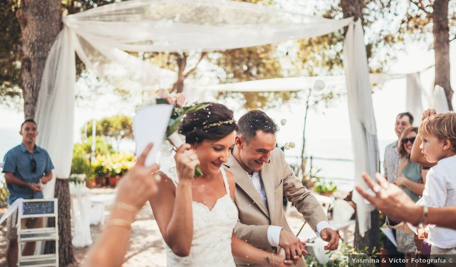 La boda de Mathieu y Aida en L' Ampolla, Tarragona