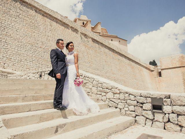 La boda de Alex y Gisela en Santa Maria (Isla De Ibiza), Islas Baleares 36