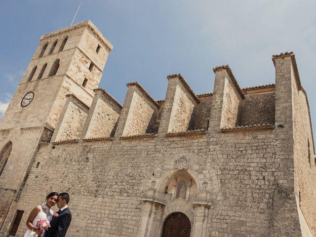 La boda de Alex y Gisela en Santa Maria (Isla De Ibiza), Islas Baleares 45