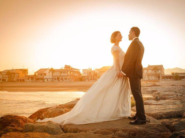 La boda de David y Carla en El Puig, Valencia 1