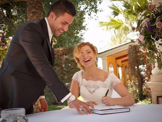 La boda de David y Carla en El Puig, Valencia 9