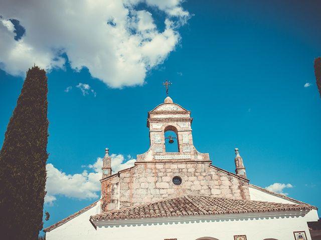 La boda de José y Rosalía en El Puente Del Arzobispo, Toledo 26