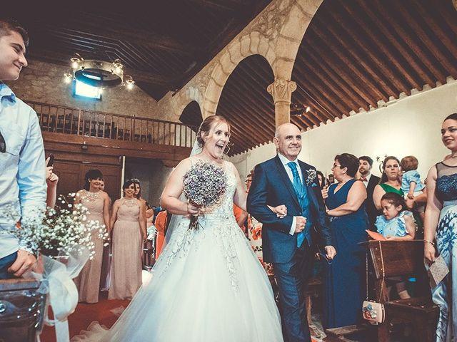 La boda de José y Rosalía en El Puente Del Arzobispo, Toledo 30