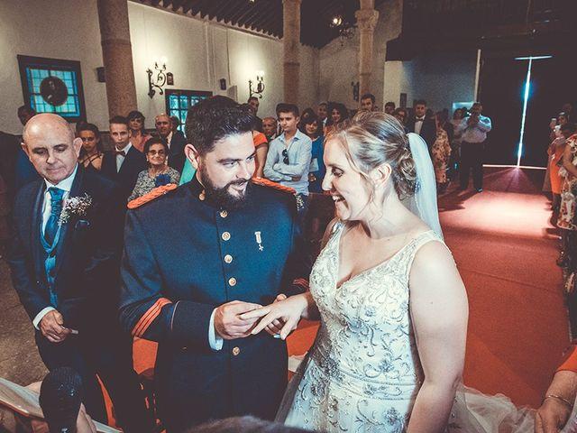 La boda de José y Rosalía en El Puente Del Arzobispo, Toledo 32