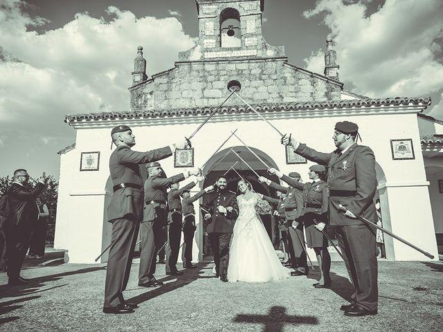 La boda de José y Rosalía en El Puente Del Arzobispo, Toledo 34