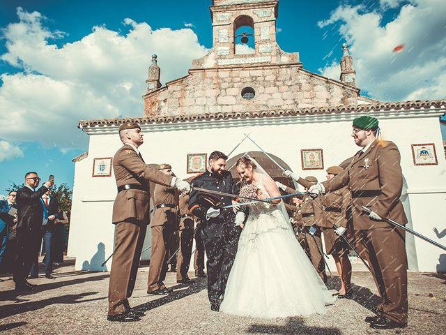 La boda de José y Rosalía en El Puente Del Arzobispo, Toledo 35