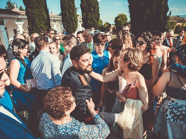 La boda de José y Rosalía en El Puente Del Arzobispo, Toledo 37