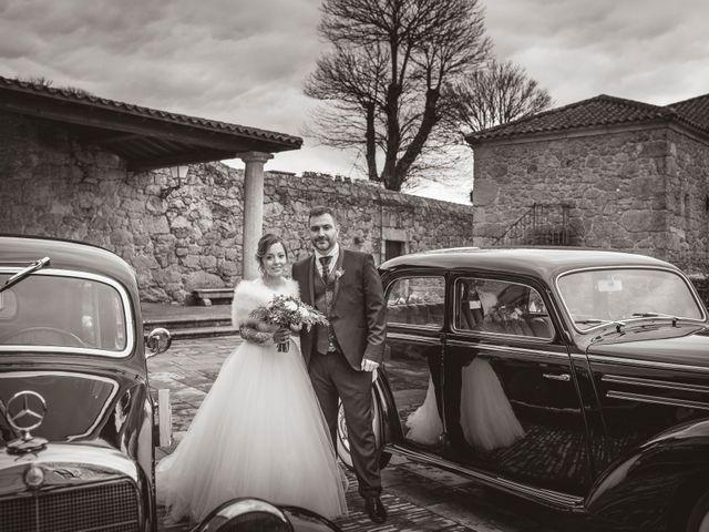 La boda de Iago y Llanire en Chantada (Santa Marina), Lugo 16