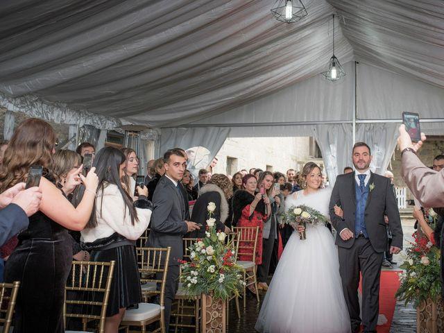 La boda de Iago y Llanire en Chantada (Santa Marina), Lugo 18