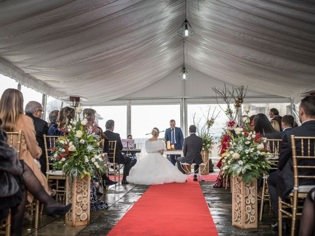 La boda de Iago y Llanire en Chantada (Santa Marina), Lugo 22