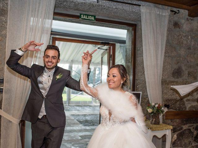 La boda de Iago y Llanire en Chantada (Santa Marina), Lugo 54
