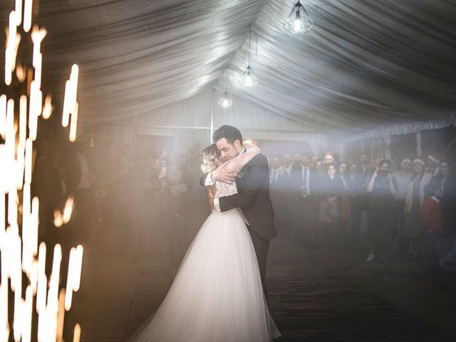 La boda de Iago y Llanire en Chantada (Santa Marina), Lugo 57