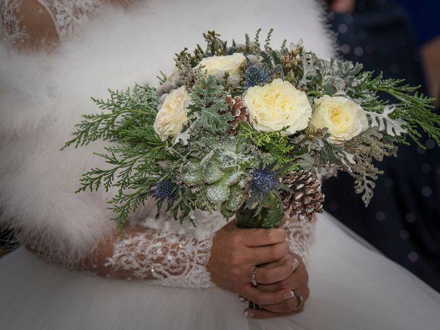 La boda de Iago y Llanire en Chantada (Santa Marina), Lugo 60