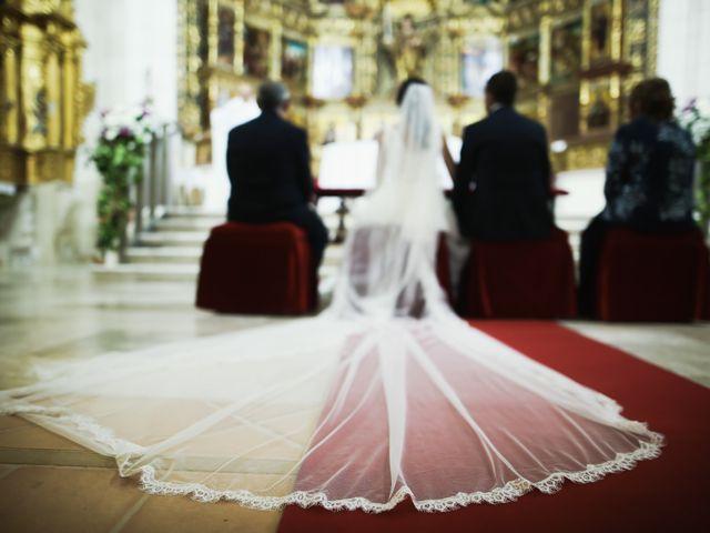 La boda de Andrés Fuentes y Sonia Diez en Valbuena De Duero, Valladolid 16