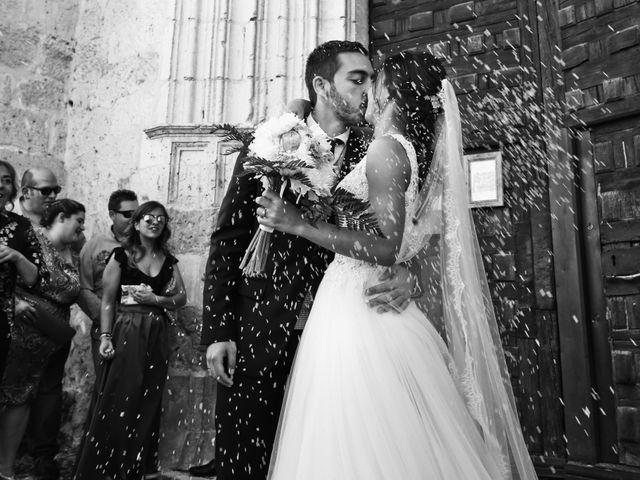 La boda de Andrés Fuentes y Sonia Diez en Valbuena De Duero, Valladolid 18