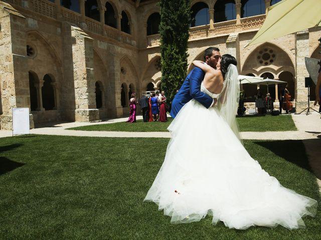 La boda de Andrés Fuentes y Sonia Diez en Valbuena De Duero, Valladolid 37