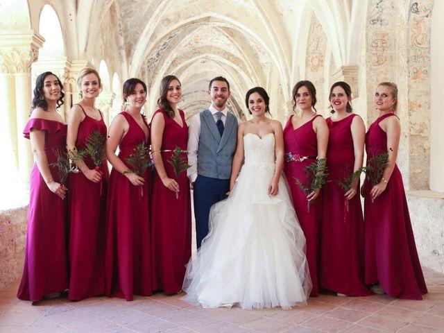 La boda de Andrés Fuentes y Sonia Diez en Valbuena De Duero, Valladolid 1