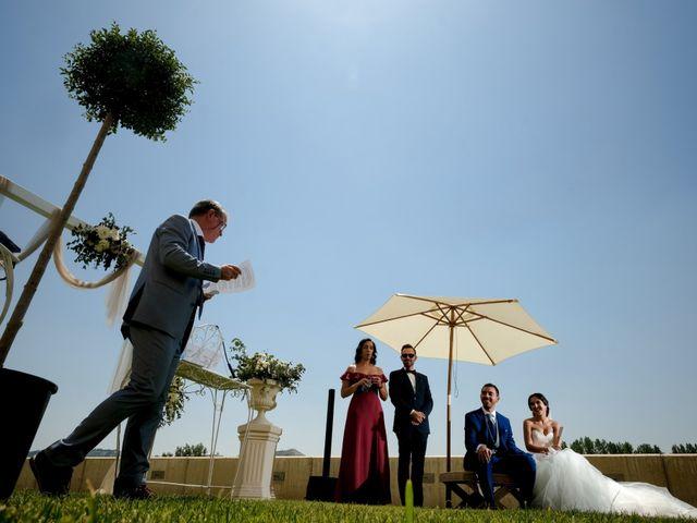 La boda de Andrés Fuentes y Sonia Diez en Valbuena De Duero, Valladolid 56