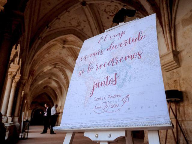 La boda de Andrés Fuentes y Sonia Diez en Valbuena De Duero, Valladolid 60