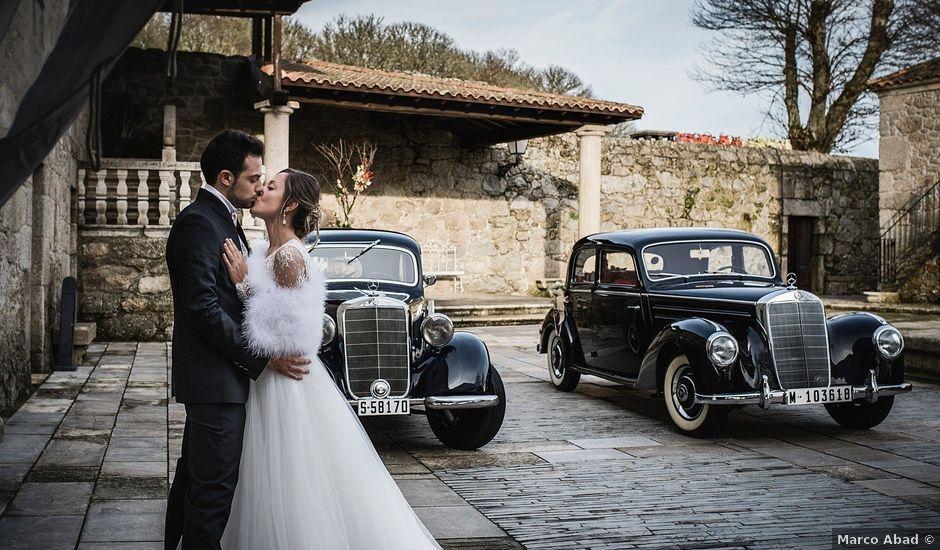 La boda de Iago y Llanire en Chantada (Santa Marina), Lugo