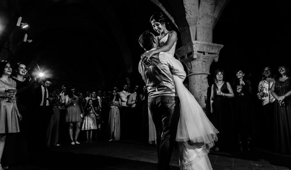 La boda de Andrés Fuentes y Sonia Diez en Valbuena De Duero, Valladolid