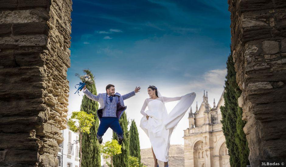 La boda de Miguel Ángel y Marina en Archidona, Málaga