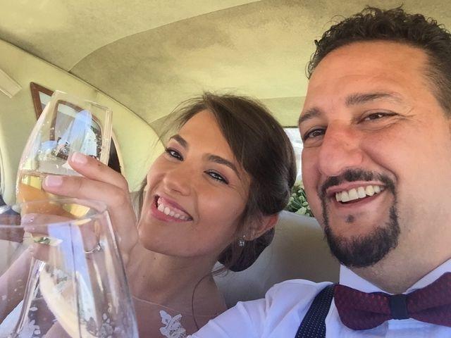 La boda de Carolina Sánchez y Ramiro González
