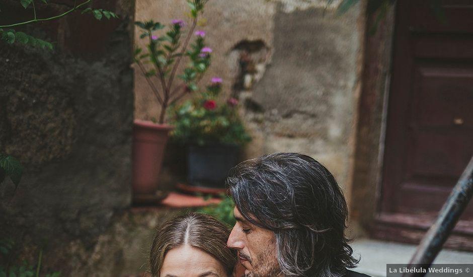 La boda de Enrique y Sonja en La Bisbal d'Empordà, Girona
