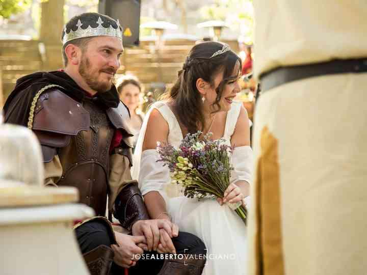 La boda de Juan y Mari Luz