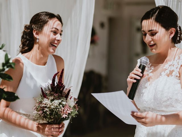 La boda de Leticia y Raquel en Arucas, Las Palmas 39