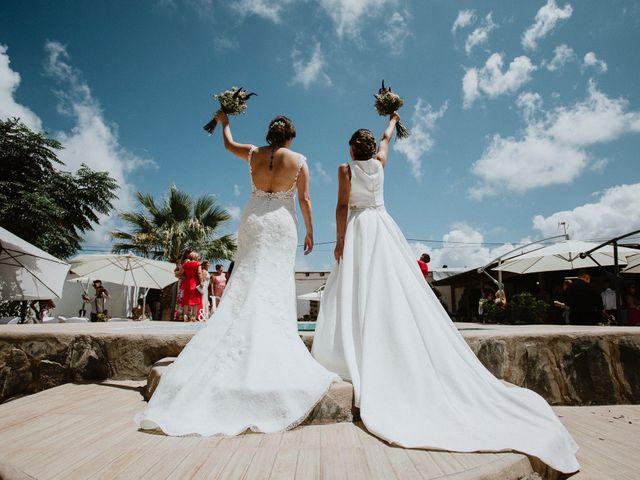 La boda de Leticia y Raquel en Arucas, Las Palmas 64
