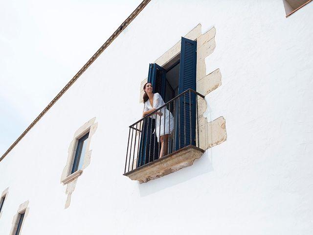 La boda de Ismael y Sara en Llafranc, Girona 13