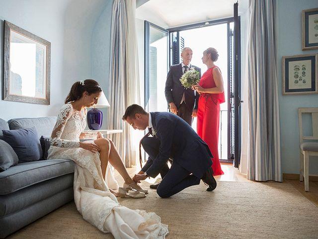 La boda de Ismael y Sara en Llafranc, Girona 19