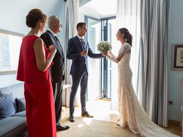 La boda de Ismael y Sara en Llafranc, Girona 20