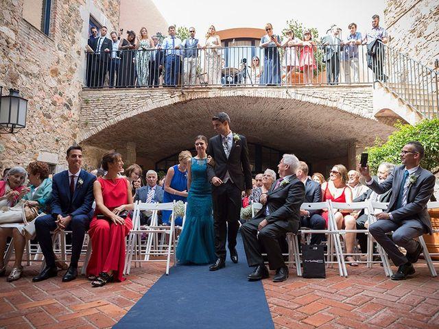La boda de Ismael y Sara en Llafranc, Girona 28