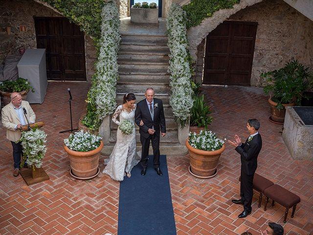 La boda de Ismael y Sara en Llafranc, Girona 35