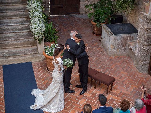 La boda de Ismael y Sara en Llafranc, Girona 36