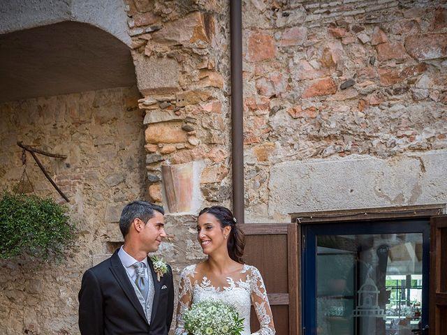 La boda de Ismael y Sara en Llafranc, Girona 37