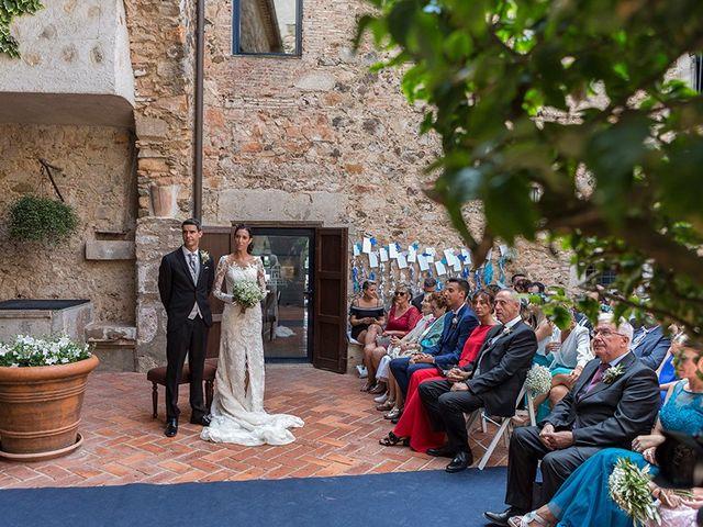 La boda de Ismael y Sara en Llafranc, Girona 39
