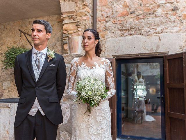 La boda de Ismael y Sara en Llafranc, Girona 40