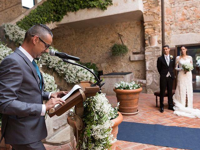 La boda de Ismael y Sara en Llafranc, Girona 42