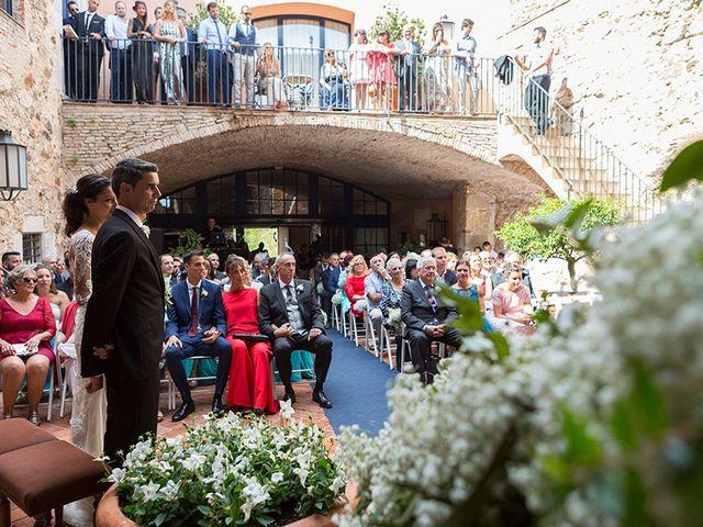 La boda de Ismael y Sara en Llafranc, Girona 45