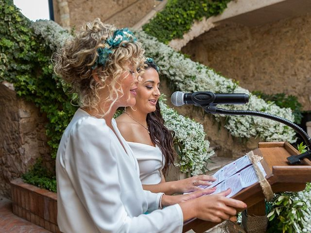 La boda de Ismael y Sara en Llafranc, Girona 46