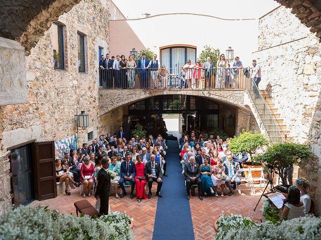 La boda de Ismael y Sara en Llafranc, Girona 48