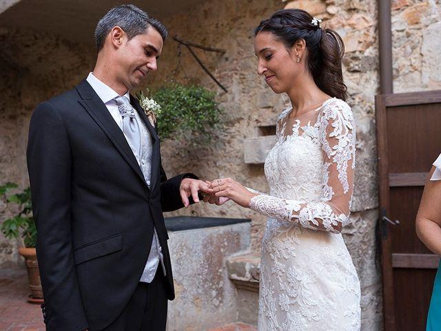 La boda de Ismael y Sara en Llafranc, Girona 53