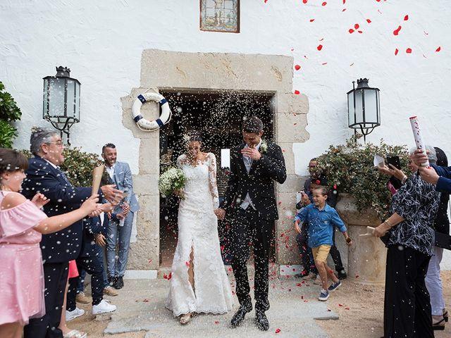 La boda de Ismael y Sara en Llafranc, Girona 58