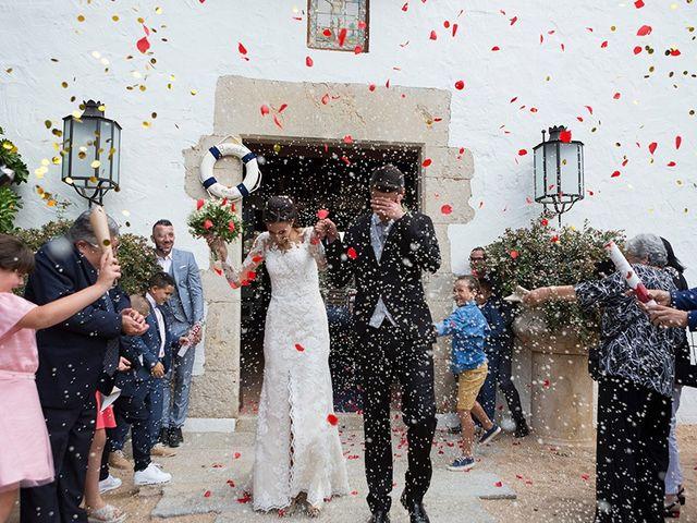 La boda de Ismael y Sara en Llafranc, Girona 59