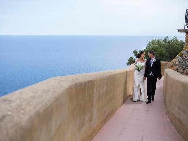 La boda de Ismael y Sara en Llafranc, Girona 68
